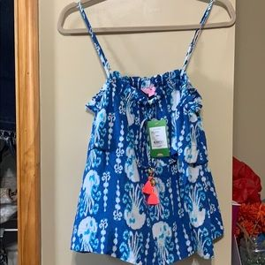 Lilly Pulitzer Get In Line tank NWT